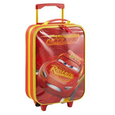 Disney Cars Kinderkoffer Koffer Trolley Kinder Handgepäck Tasche Kindertrolley