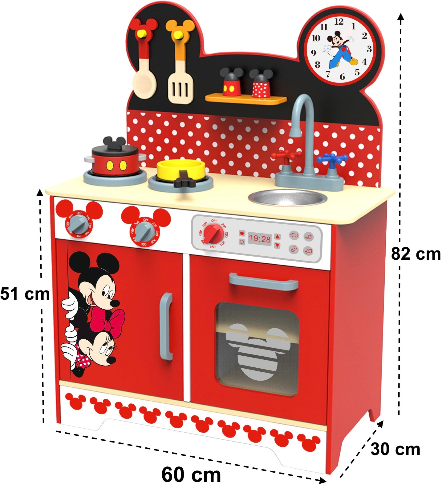 Disney Minnie Mouse Küche