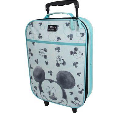 Disney Mickey Mouse Koffer Trolley Kinderkoffer Trolly Handgepäck Kindertrolley