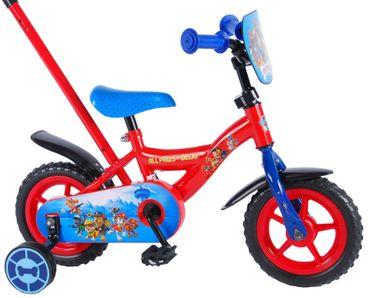 10 Zoll Fahrrad Kinderfahrrad Jungen Mädchen Kinderrad Stützräder Rot