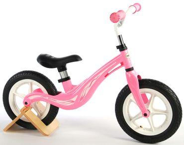 Alu Kinderlaufrad 12 Zoll Laufrad ab 2 Jahre 3 Lauflernrad Fahrrad Mädchen Pink
