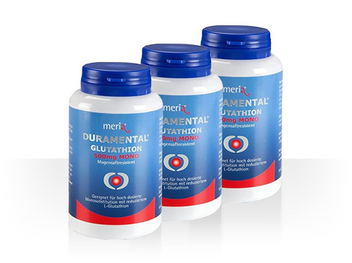 DURAMENTAL® GLUTATHION 500mg MONO - Abo 3er-Pack