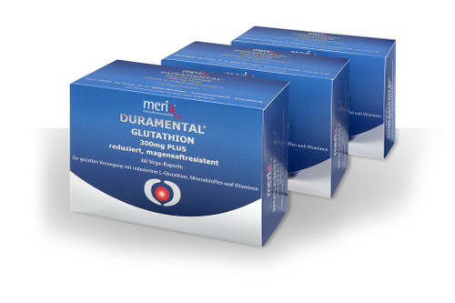 DURAMENTAL® GLUTATHION 300mg PLUS - Abo 3er-Pack