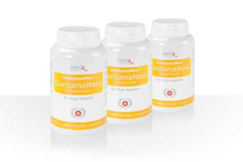 ImmunoMax® CurcumaNova Liquid Concentrate – Subscription 3-pack