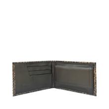 LEXA Minibörse Python Schwarz/Silber