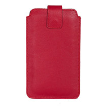 PHIL iPhone 6s PLUS / iPhone 6 PLUS Case Kalbleder Marlboro Red