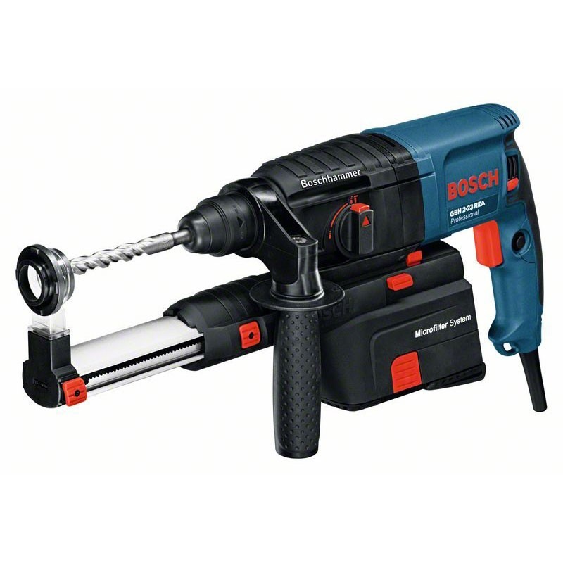 BOSCH GBH 2-23 REA:   Perforateur a aspiration integree avec SDS-plus GBH 2-23 REA