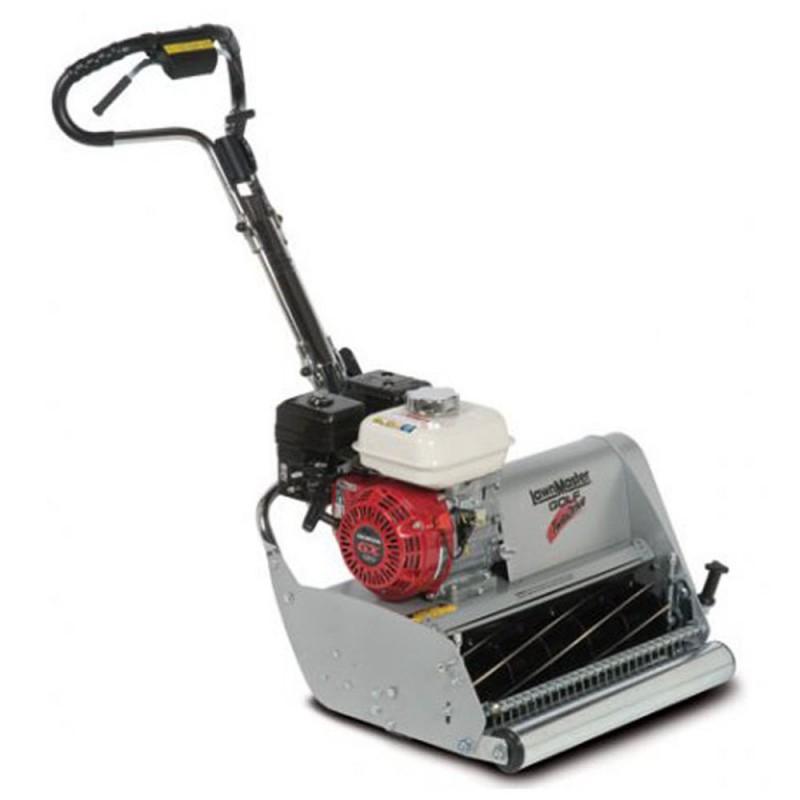 Tondeuse thermique à cylindre professionnelle autotractée LawnMaster - 50 cm - Honda GX120 OHV