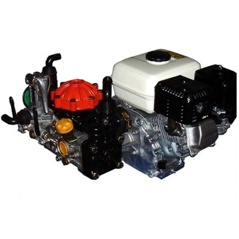Pompe à membrane moteur Honda GX160 - avec régulateur de pression - 40 bar