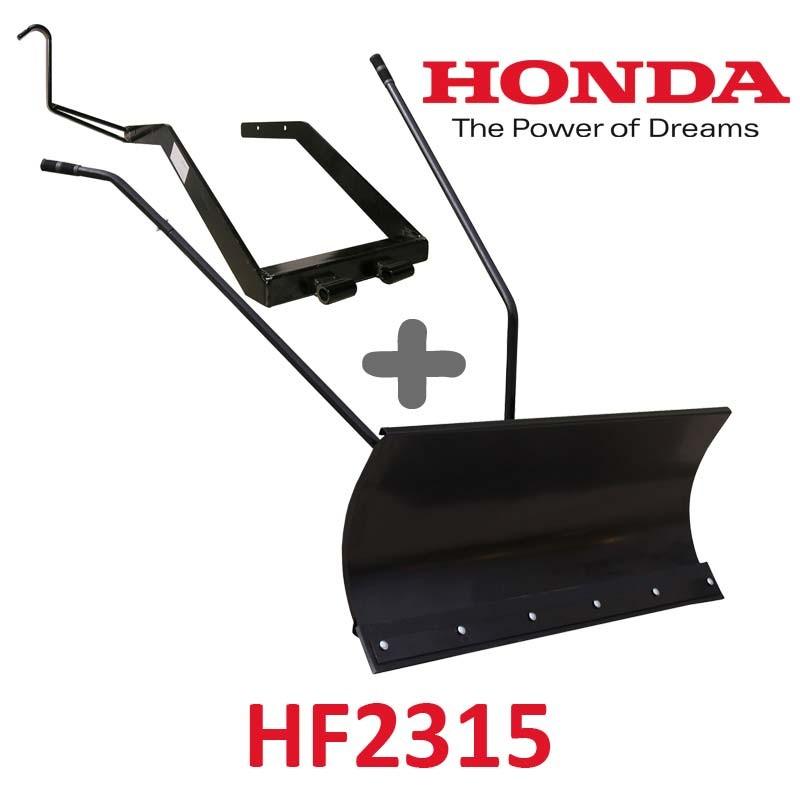 Lame à Neige 118 cm Noire + adaptateur pour Honda HF2315