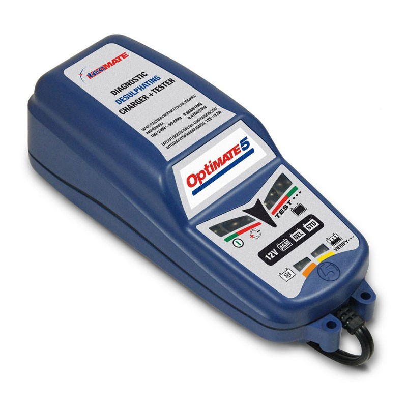 Chargeur de Batterie 12 V OPTIMATE 5 2,8 Ampères
