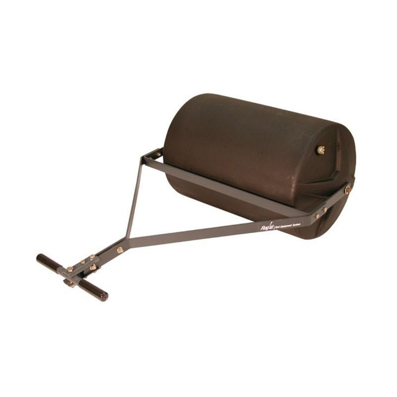 Rouleau traîné ou à pousser - 105 litres - 60 cm - Polyéthylène - Raclette