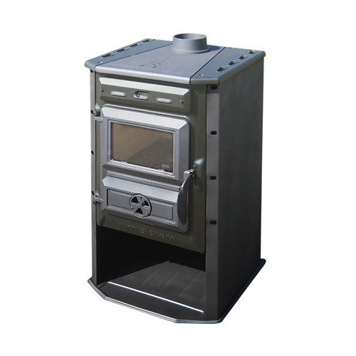 Poêle à bois 10 kW Magic Stove Gris - Tim Sistem