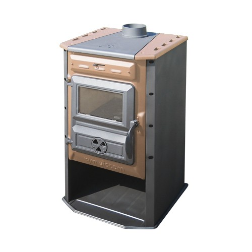Poêle à  bois 10 kW Magic Stove Brun - Tim Sistem