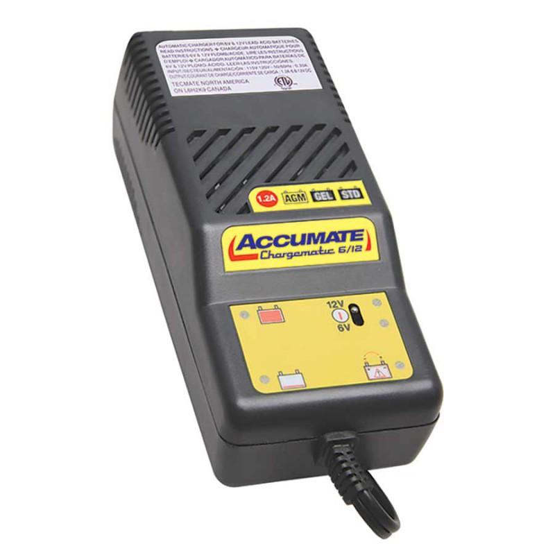TECMATE ACCUMATE - Chargeur de batterie 6 & 12V