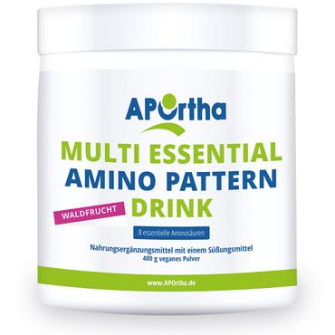 Amino Pattern Aminosäuren Drink - 400 g veganes Pulver – Bild 2