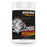 APOrtha Sports Anger - Amino Pattern Pre-Workout Drink - 750 g veganes Pulver - MHD 06/2018