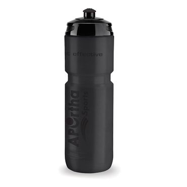 APOrtha Sports ALL BLACK 800 ml Trinkflasche - All Black