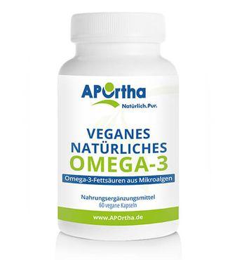 Algenöl veganes Omega-3 - 60 vegane Kapseln