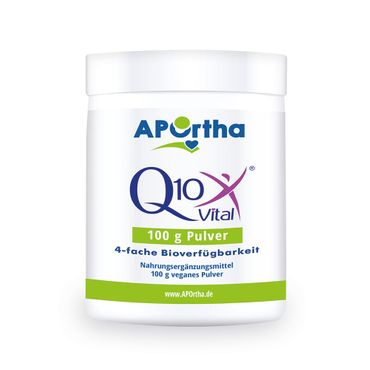 Q10Vital® Coenzym Q10 - 100 g veganes Pulver – Bild 1