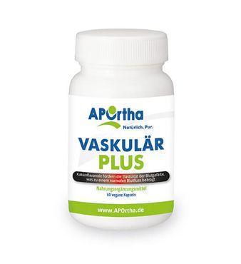 Vaskulär Plus - 100 mg Kakaoflavanole - 60 vegane Kapseln – Bild 1