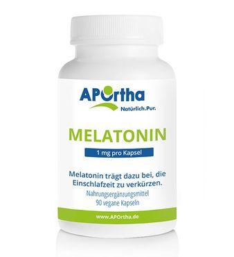 Melatonin 1 mg - 90 vegane Kapseln