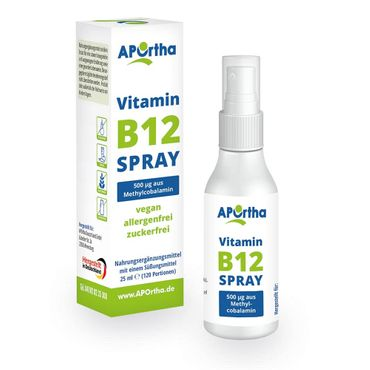Vitamin B12 veganes Mundspray 500 µg Methylcobalamin - 25 ml - ABVERKAUF