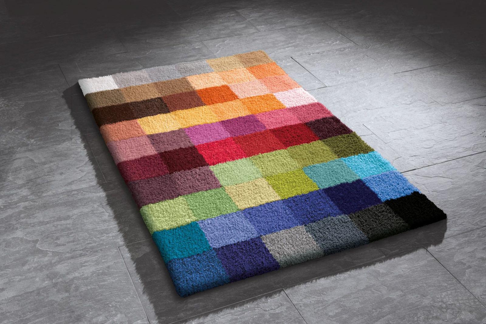 Kleine Wolke Badteppich Cubetto Multicolor Verschiedene Grossen Rund