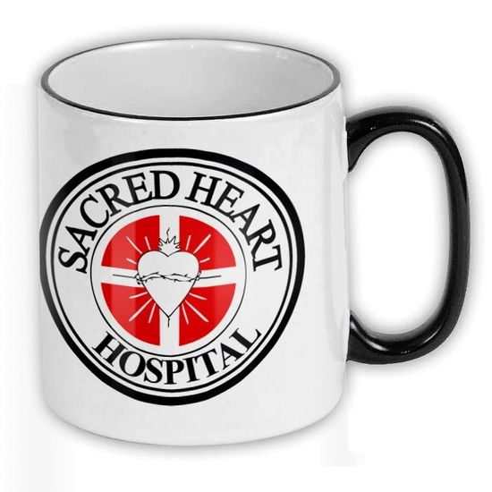 FunTasstic Tasse Sacred Heart Hospital Kaffee-Pott (T120)