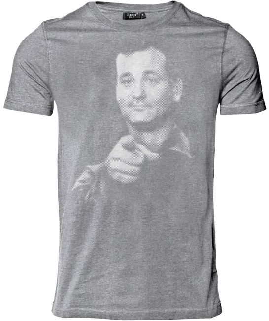 StyloTex Herren Slimfit T-Shirt Bill Fucking Murray v2