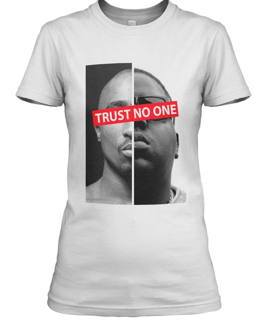 Stylotex Damen / Girlie T-Shirt Trust No One 2