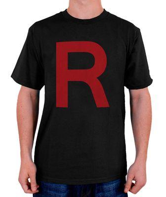 Stylotex Herren T-Shirt Basic Team Rocket  001