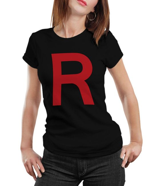 Stylotex Damen / Girlie T-Shirt Team Rocket