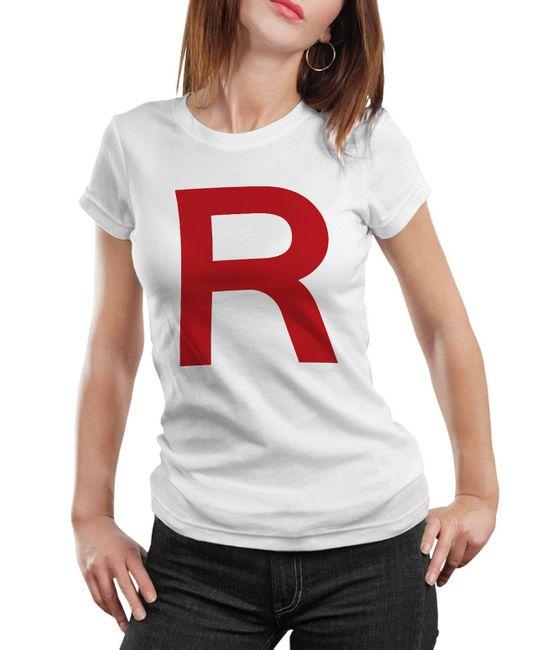 Stylotex Damen / Girlie T-Shirt Team Rocket