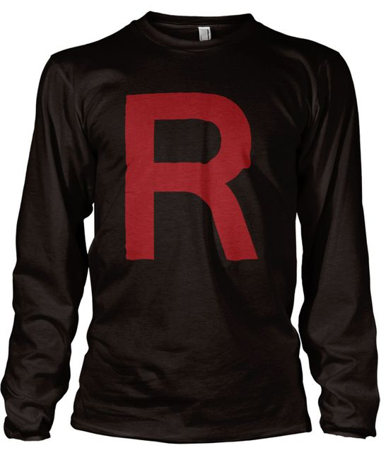 Stylotex Herren Longsleeve Basic Team Rocket