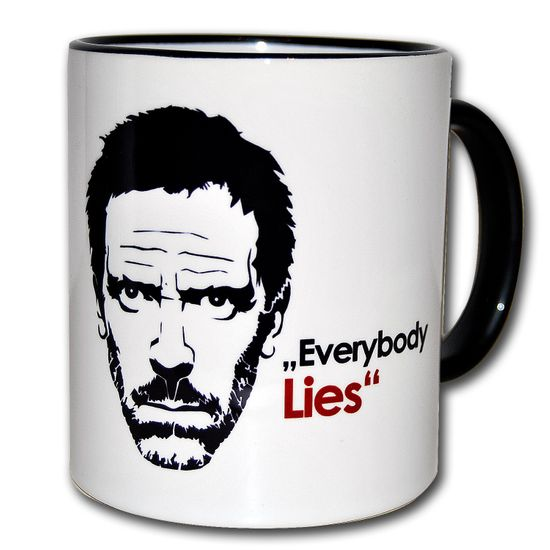 FunTasstic Tasse Everybody lies Kaffee-Pott (T034)