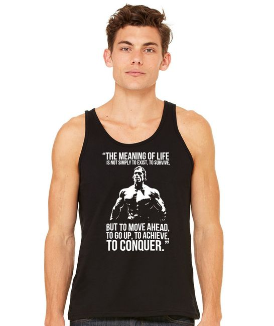 Stylotex Herren Tank Top basic The Meaning of Life