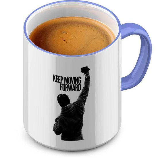 Funtasstic Tasse Keep Moving Forward - Kaffeepott Kaffeebecher 375 ml