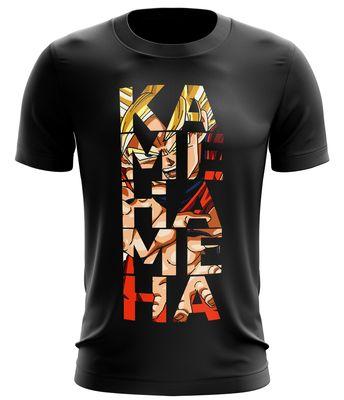 Stylotex Fitness T-Shirt Herren Sport Shirt Kamehameha Gym Tshirts für Performance beim Training | Männer kurzarm | Funktionelle Sport Bekleidung 001