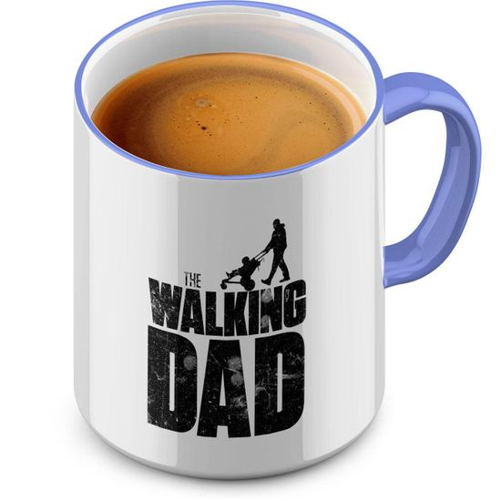Funtasstic Tasse The Walking dad - Kaffeepott Kaffeebecher 375 ml
