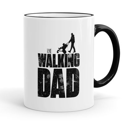 Funtasstic Tasse The Walking dad - Kaffeepott Kaffeebecher 375 ml 001