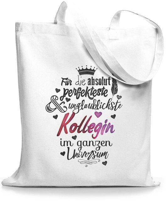 StyloBags Jutebeutel / Tasche Für die absolut perfekteste Kollegin
