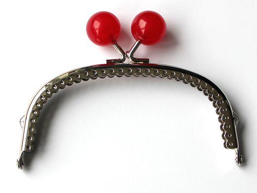 Taschenbügel Rot-Transparent