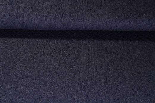 Waffelsweat Greta - Blau