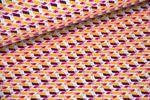 Baumwolle gemustert - Pattydoo Purple 1 001