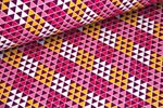 Baumwolle gemustert - Pattydoo Purple 6 001