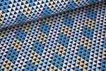 Baumwolle gemustert - Pattydoo Blue 6 001