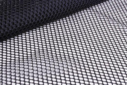 Mesh Fabric / Netzstoff Schwarz