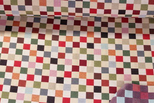 Canvas gemustert - Karo Multicolor