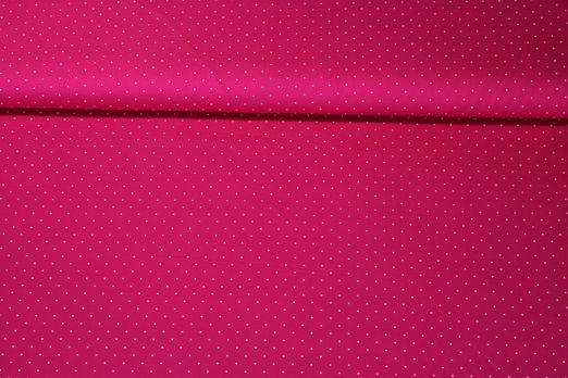 Trachtenstoff getupft - Pink Weiss